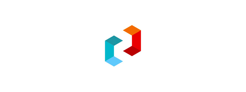 Z letter mark, negative space logo design symbol by alex tass