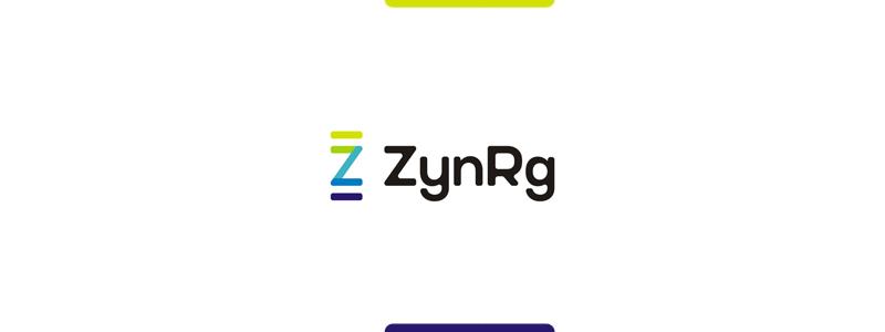ZynRg, CRM services logo design by alex tass