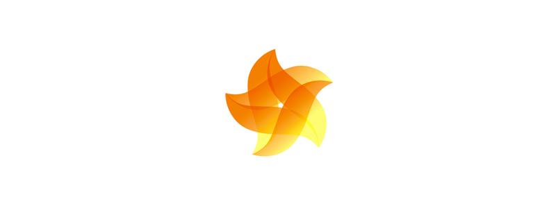 a star monogram logo design symbol by alex tass