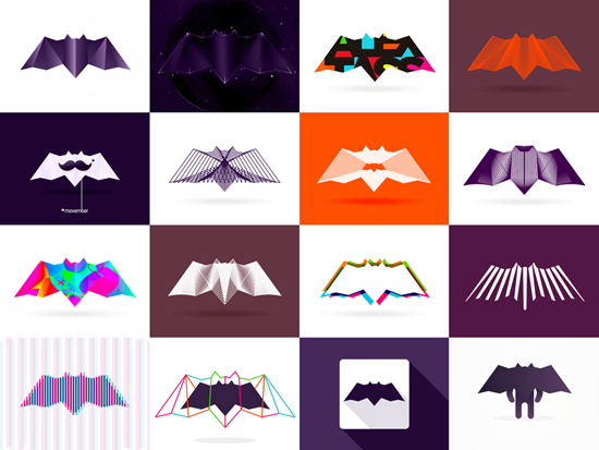 Alex Tass bat personal logo design and personal branding