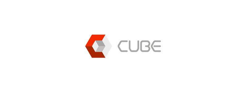 cube cubes logo design by alex tass