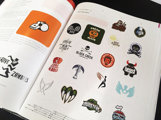 Beast Media logo design by Alex Tass featured in LogoLounge 9 Logo Lounge book