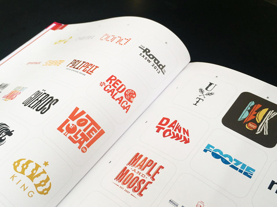 DawnTown logo design by Alex Tass featured in LogoLounge 9 Logo Lounge book