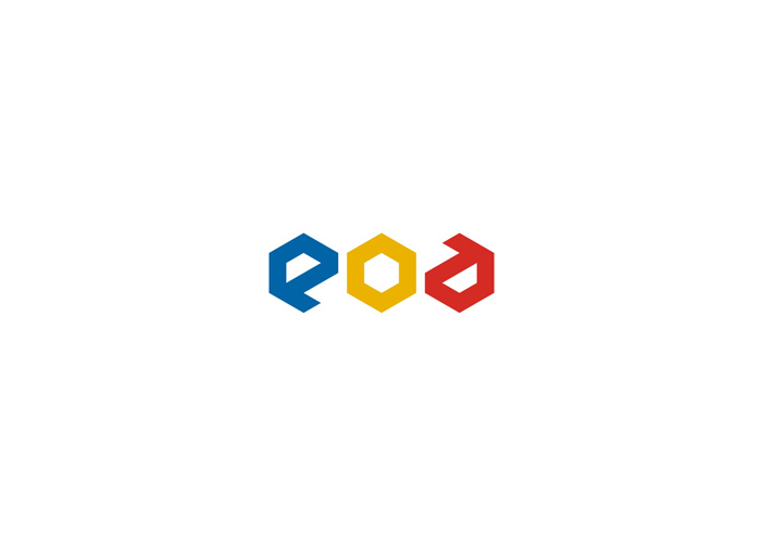EOD Entertainment on Demand VOD logo design by alex tass
