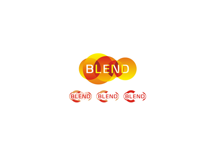 blend consulting marketing company logo design by alex tass