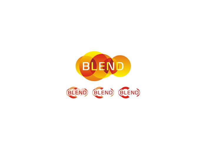 blend consulting marketing company logo design by alex tass