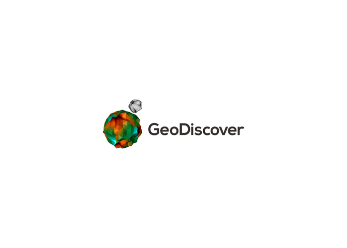 geodiscover gis tin it logo design by alex tass