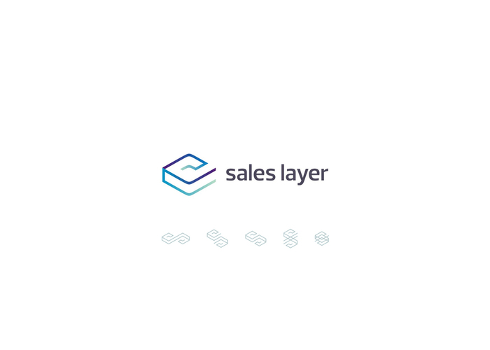 sales layer marketing application logo design by alex tass