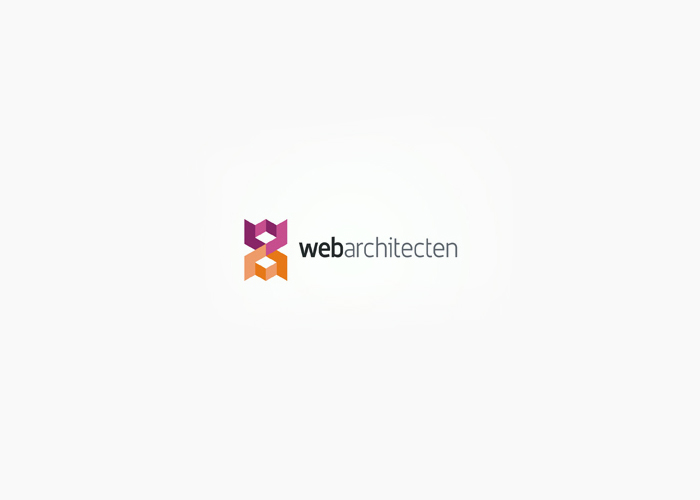 web architecten advertising agency logo design by alex tass