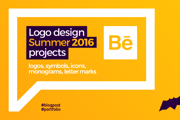 Logo design portfolio logofolio summer 2016 Alex Tass on Behance