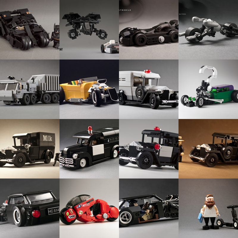 LEGO cars MOCs by _Tiler Calin