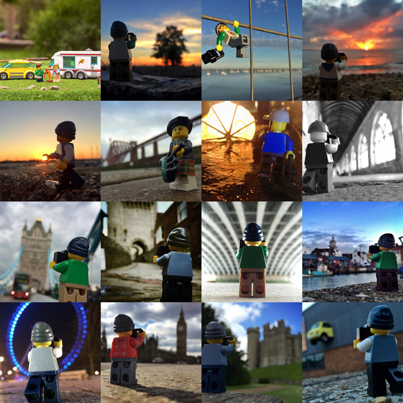 Legography traveling photos
