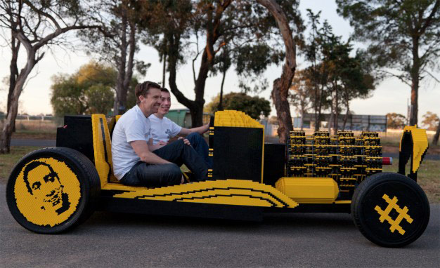The Super Awesome Micro Project: A full sized drivable LEGO car