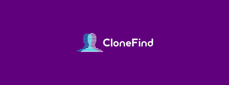 Clone Find social network social app logo design by Alex Tass