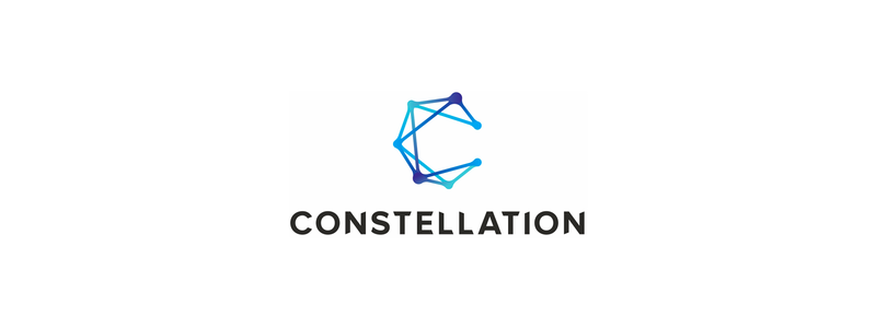 Constellation, digital marketing innovation agency logo design by Alex Tass