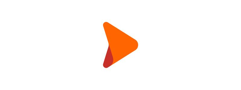 D + arrow, web hosting company logo mark redesign by Alex Tass