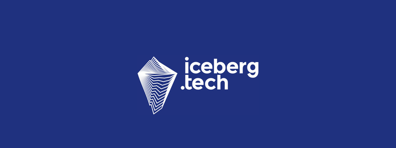 IcebergTech hub for several Internet and tech companies logo design by Alex Tass