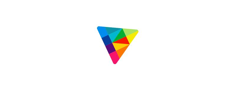 K in Kite, e-learning platform logo design symbol mark icon by Alex Tass