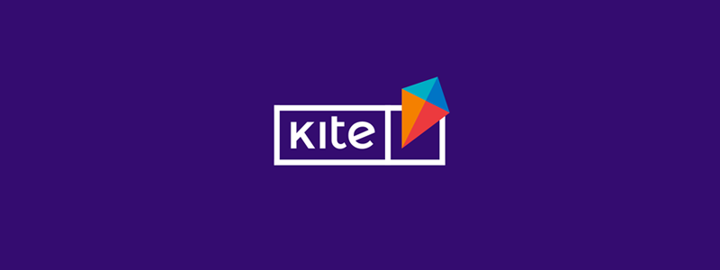 Kite, e-learning platform logo design by Alex Tass
