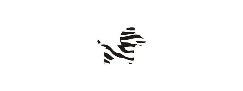 Zebra symbol for moving truck rental company logo design by Alex Tass