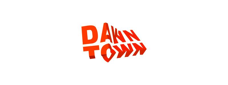 Dawn town architecture firm logo design by Alex Tass