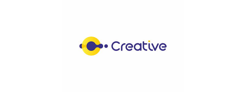 Creative multimedia solutions logo design by Alex Tass