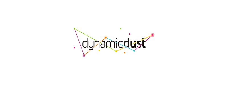 Dynamic dust mobile desktop computer games applications development logo design by Alex Tass
