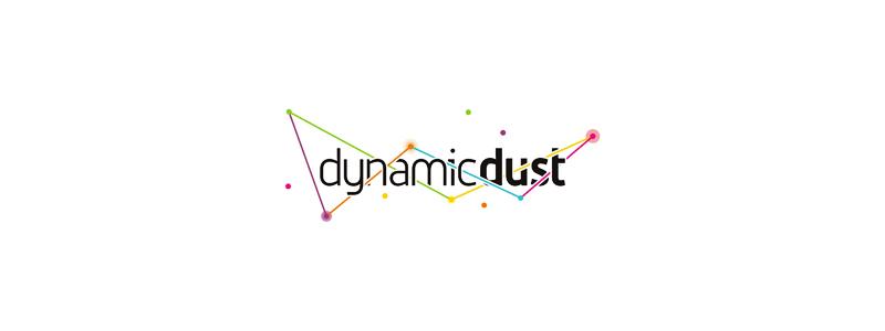Dynamic dust mobile desktop computer games applications development logo design by Alex Tass