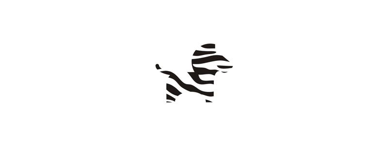 Go zebra truck rental moving company logo design symbol by Alex Tass