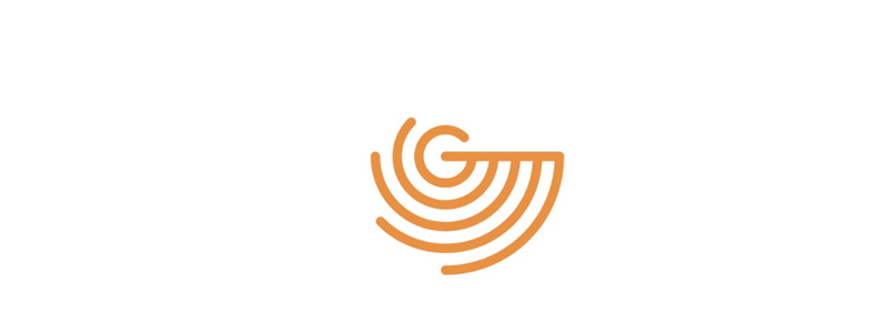 G radar waves logo design symbol by Alex Tass