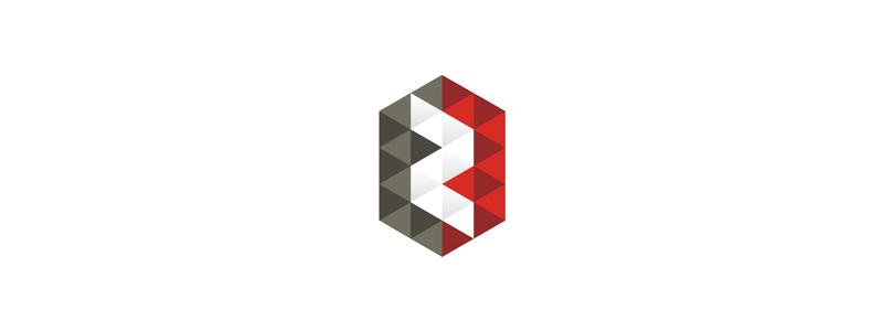 Z geometric pattern letter mark icon logo design symbol by Alex Tass