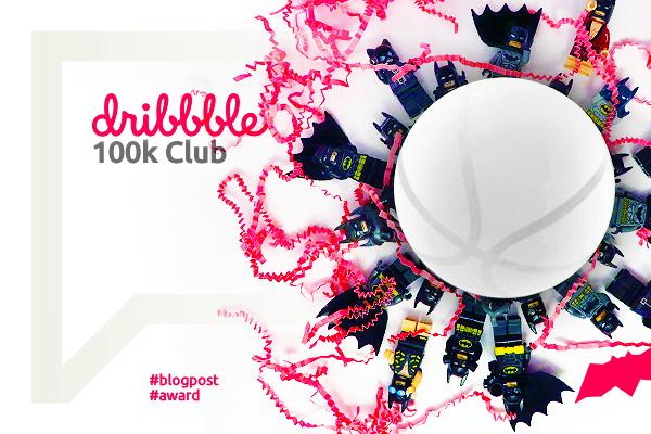 dribbble 100k likes Club