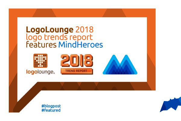 LogoLounge 2018 Logo Trends Report features Mind Heroes letter mark logo design by Alex Tass