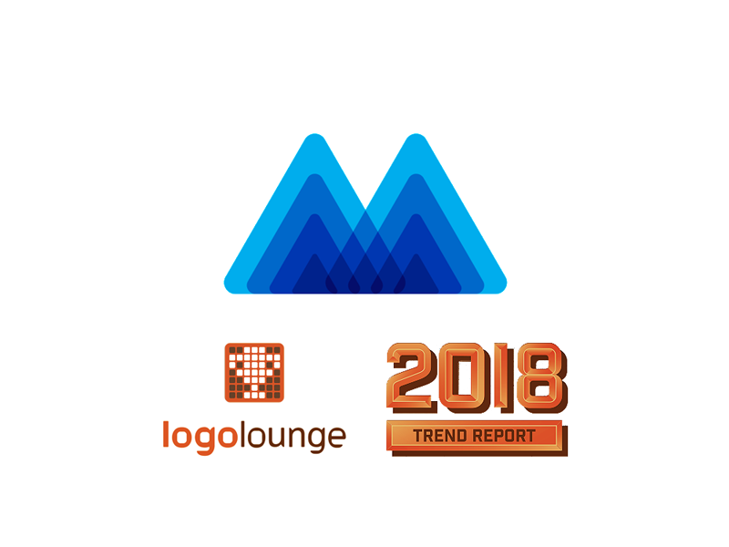 LogoLounge 2018 Logo Trends Report features Mind Heroes logo design by Alex Tass
