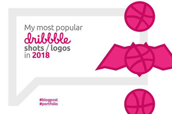 The most popular dribbble shots logos in 2018 by Alex Tass