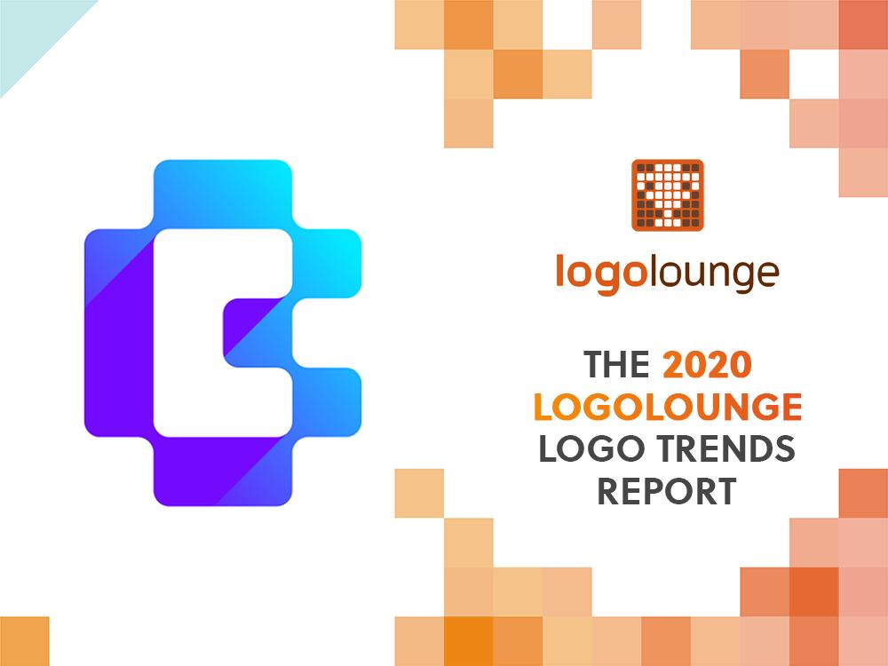 LogoLounge 2020 Logo Trends Report features CoinBase logo design by Alex Tass
