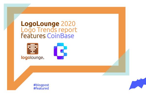 LogoLounge 2020 Logo Trends Report features CoinBase letter mark logo design by Alex Tass