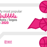 The most popular dribbble shots logos in 2020 by Alex Tass