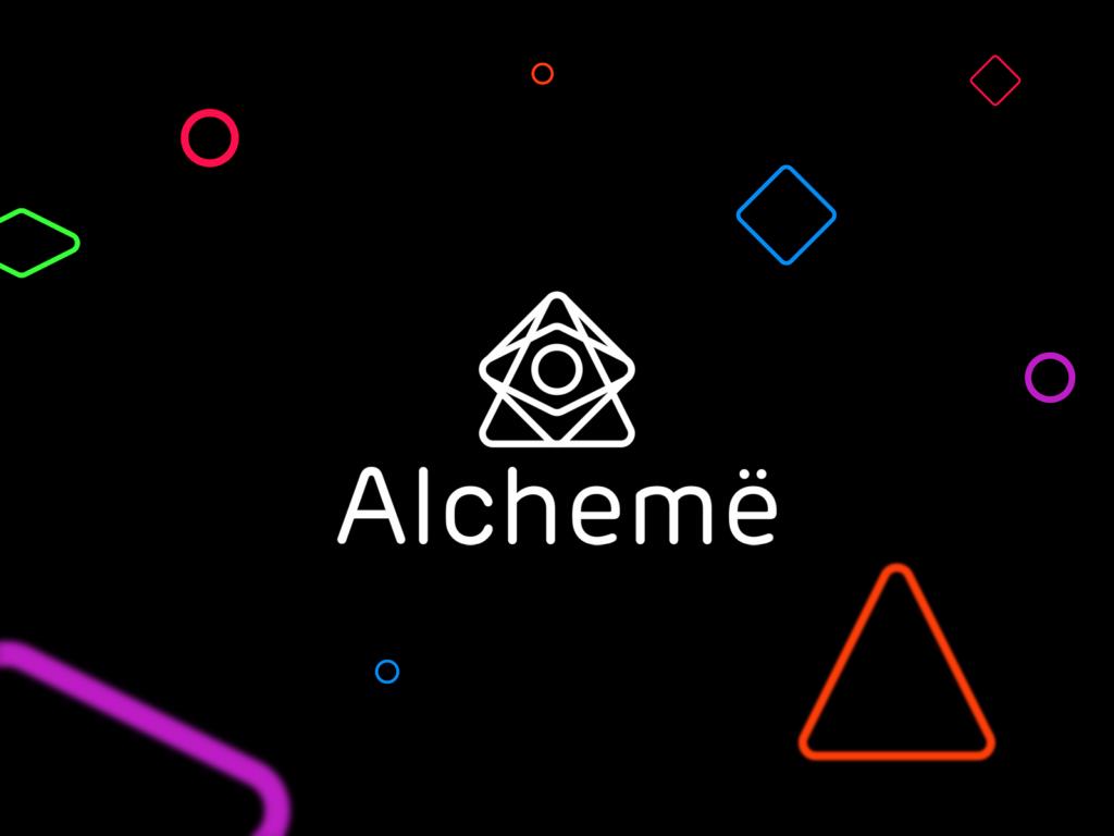 Alchemy beauty professionals logo design by Alex Tass