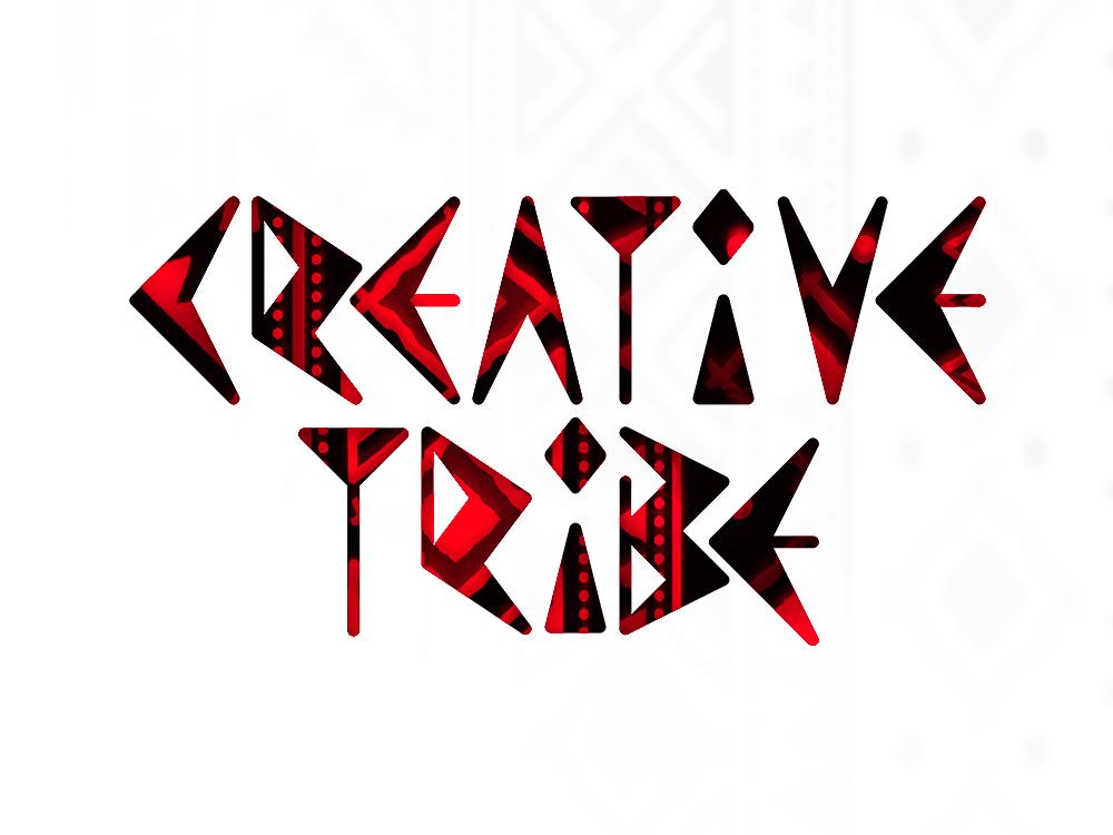 Creative tribe tribes tribal pr advertising events logo design by Alex Tass
