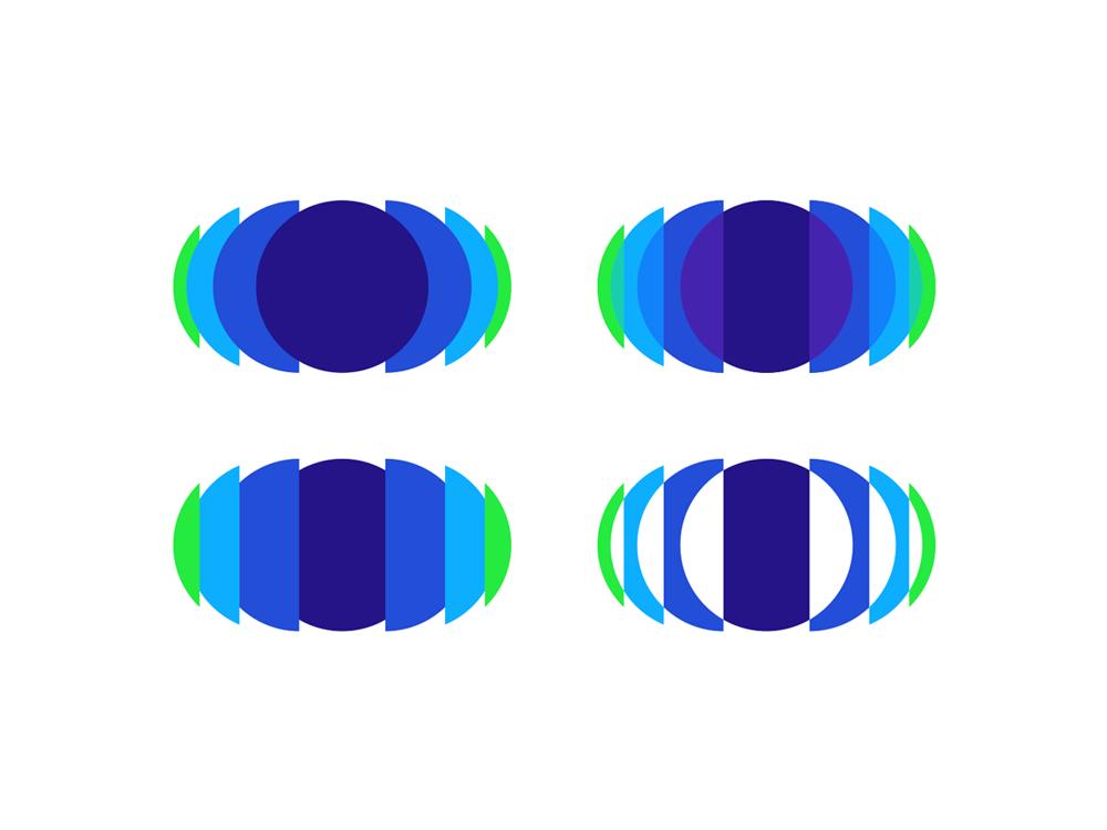 Eye cloud saas video platform network logo design by Alex Tass
