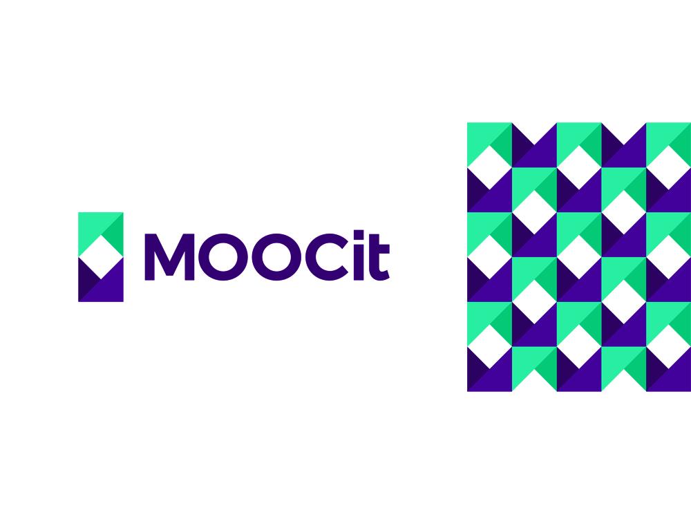 Mooc it Massive open online course digital e-learning logo design by Alex Tass