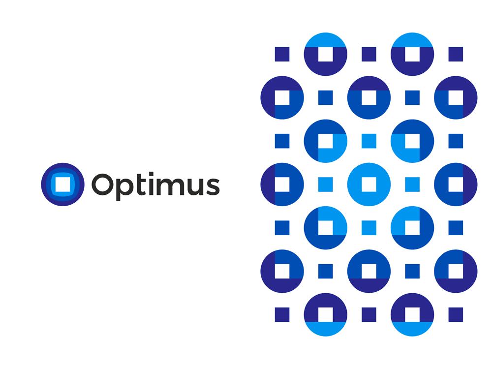 Optimus, logo design for tech engineering company by Alex Tass