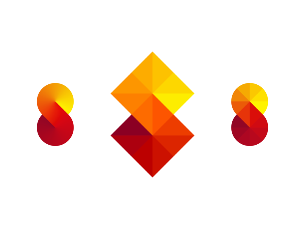 Squared S letter, structure, stairs, infinite learning logo symbol by Alex Tass