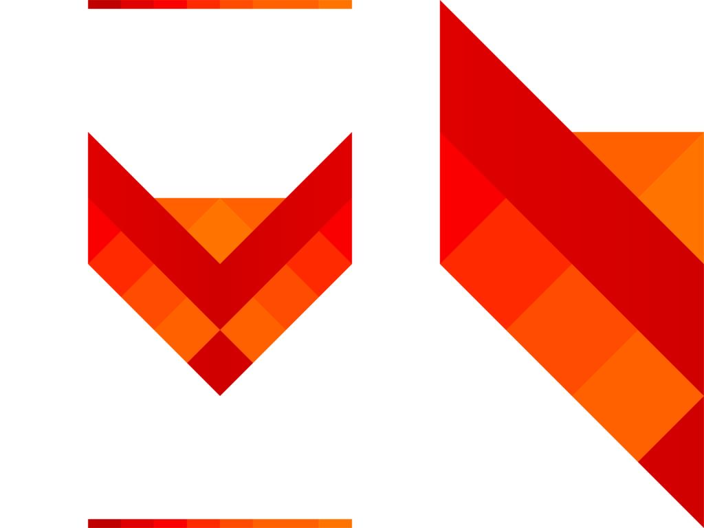 Fox pencil creative fox logo design by Alex Tass