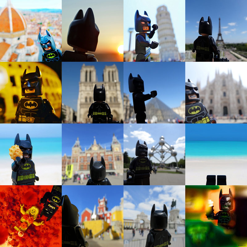 Alex Tass instagram LEGO Batman