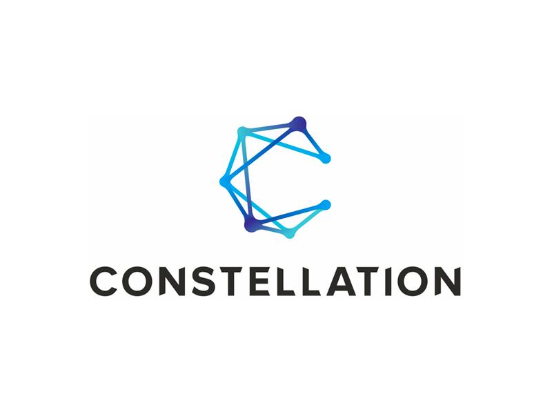 C for Constellation digital marketing innovation agency logo design by Alex Tass