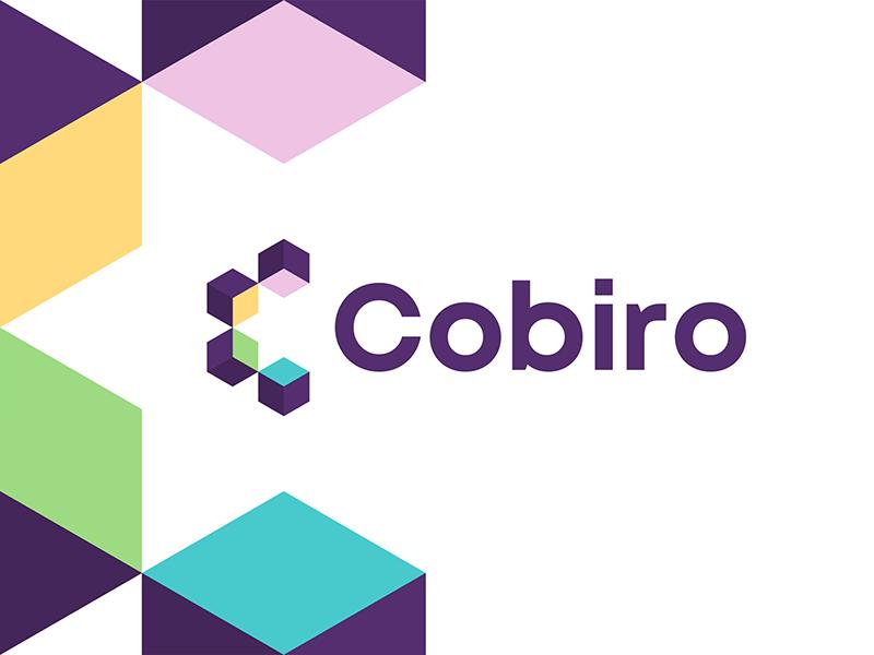 Cobiro website builder logo design letter C, boxes, modules logo design by Alex Tass