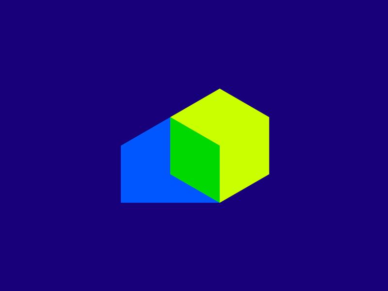 Home, sun, solar panel, arrow, green energy logo symbol icon logo design by Alex Tass