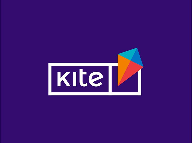Kite e-learning platform logo design by Alex Tass